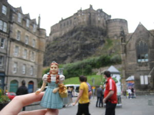 Dorothy visits Edinburgh